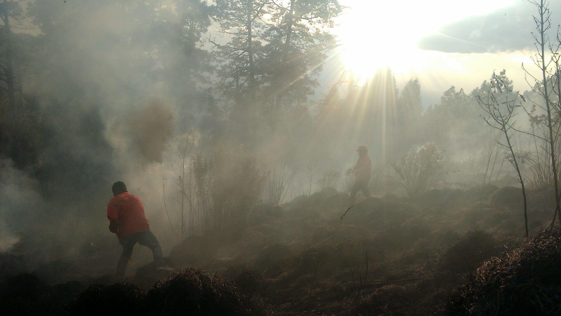 huitzi incendio