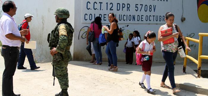 militarizacion acapulco