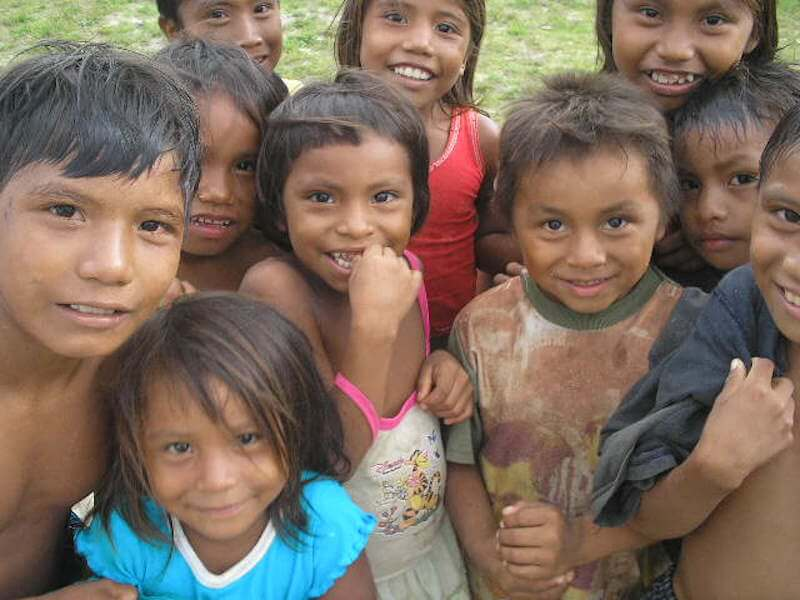 Niños pobreza México