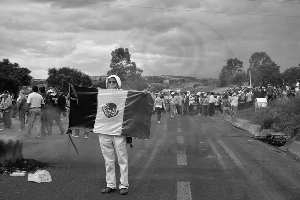 Nochixtlán 19 de junio / foto: Desde Las Nubes