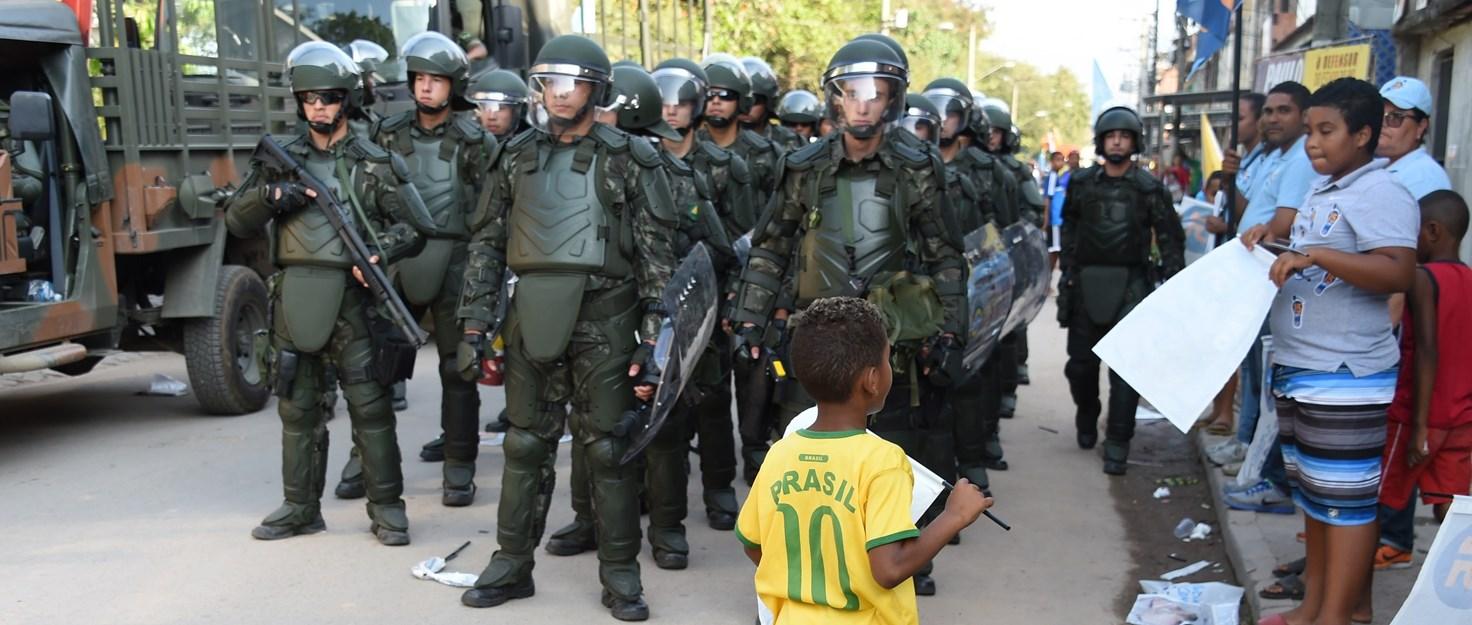 Río de Janeiro represión