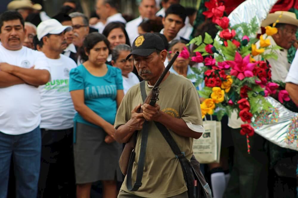 Aniversario V. Guerrero en Tixtla / foto Alaide Martínez