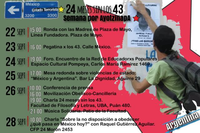 Argentina Ayotzinapa