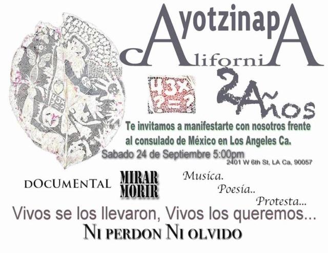 Ayotzinapa / Los Ángeles, CA