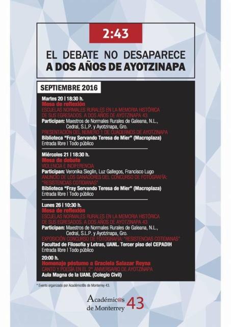Ayotzi académicos Monterrey