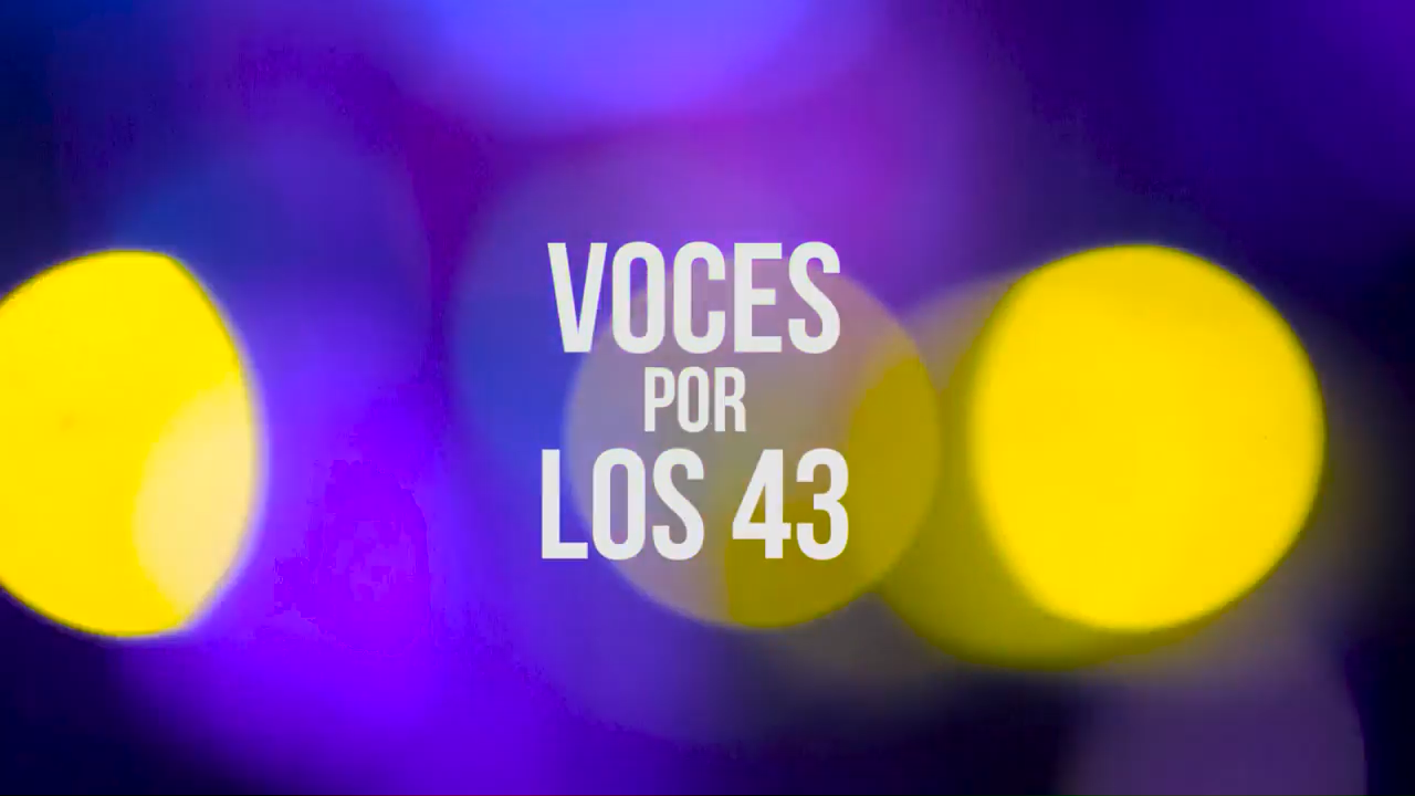 Captura de pantalla de Concierto Voces por los 43