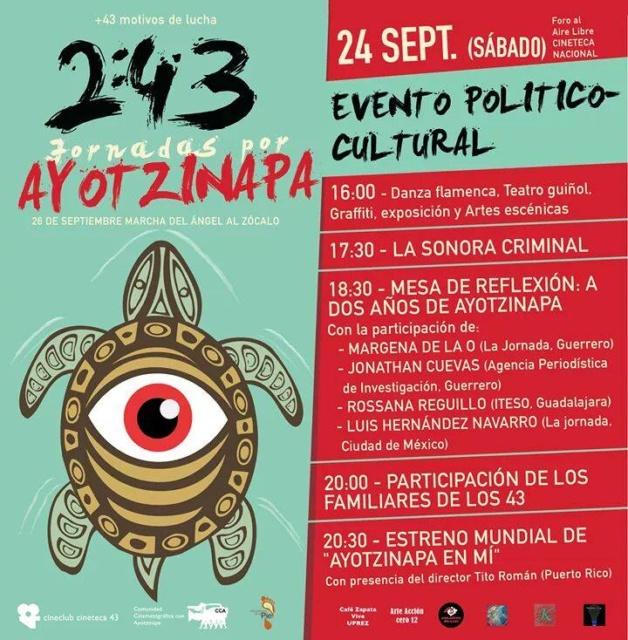 cineteca nacional 24 sept