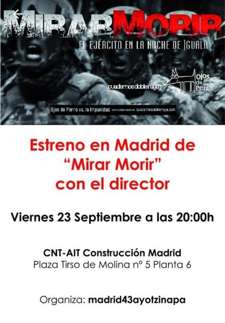 Ayotzinapa 2 años Madrid 2