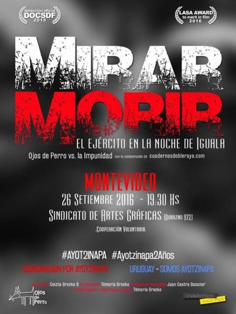 Ayotzinapa 2 años / Montevideo Uruguay