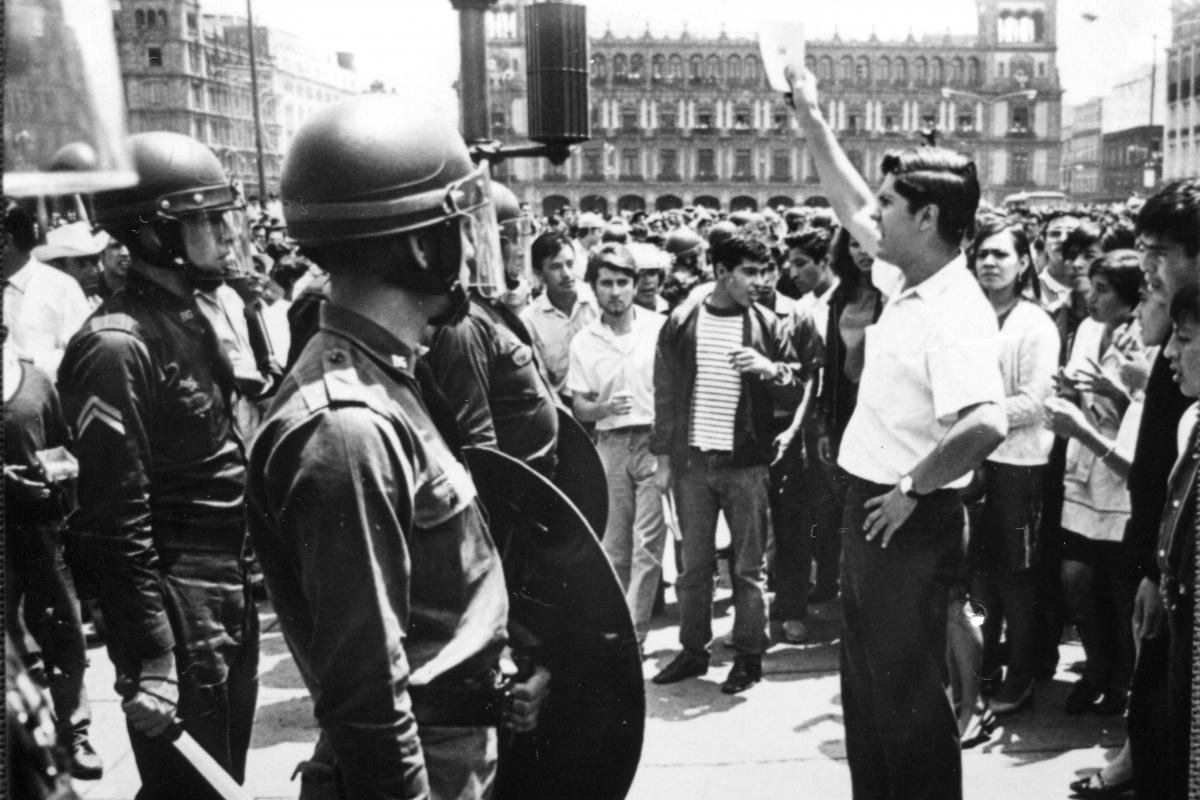 Imágenes del movimiento estudiantil de 1968 en su 48