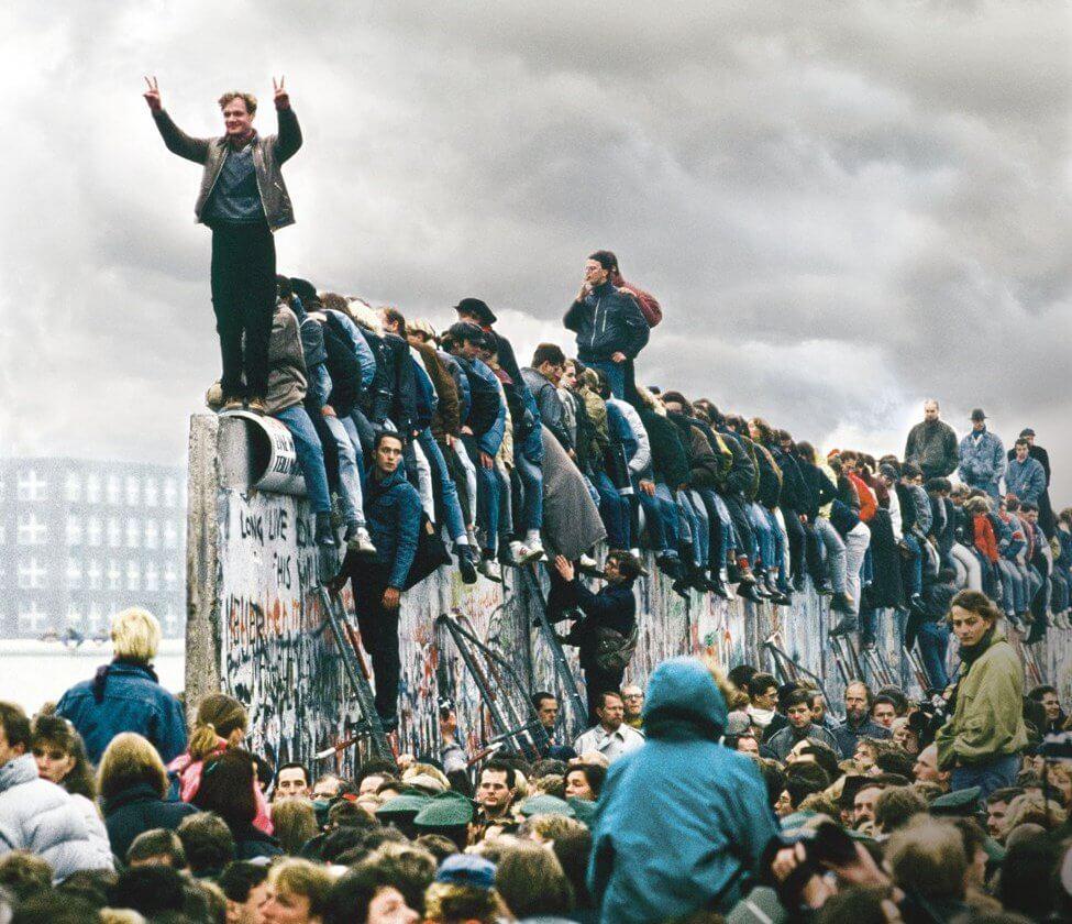 Resultado de imagen para conmemoracion de caida del muro de berlin