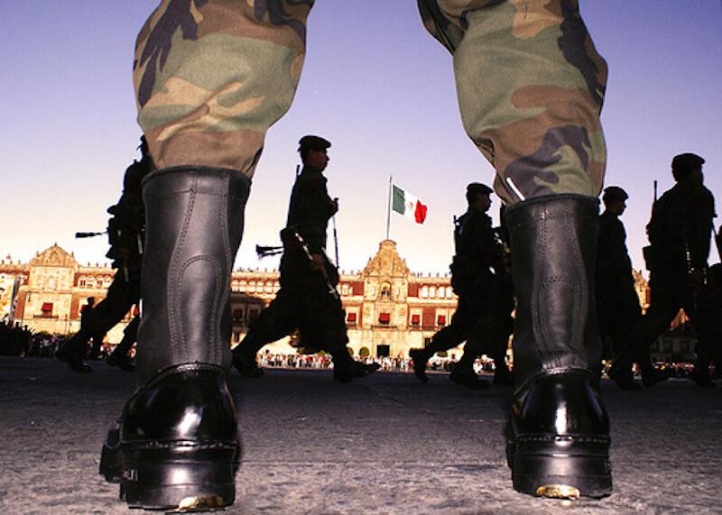 militarización México