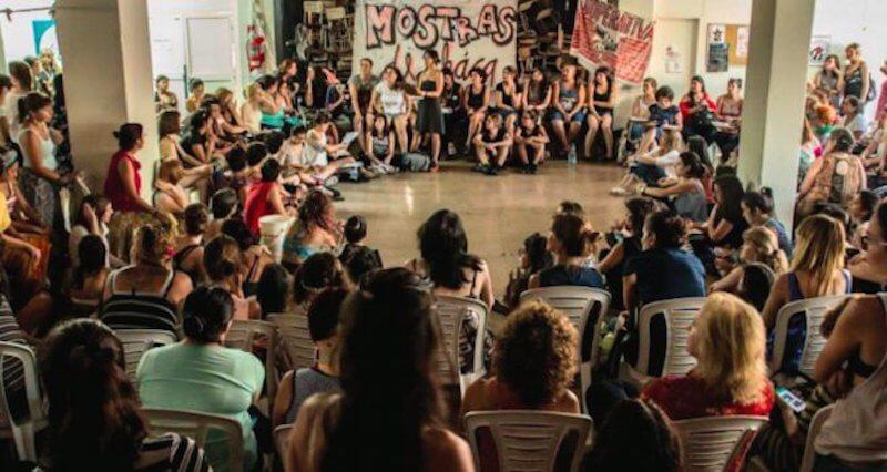 mujeres argentina 8 marzo