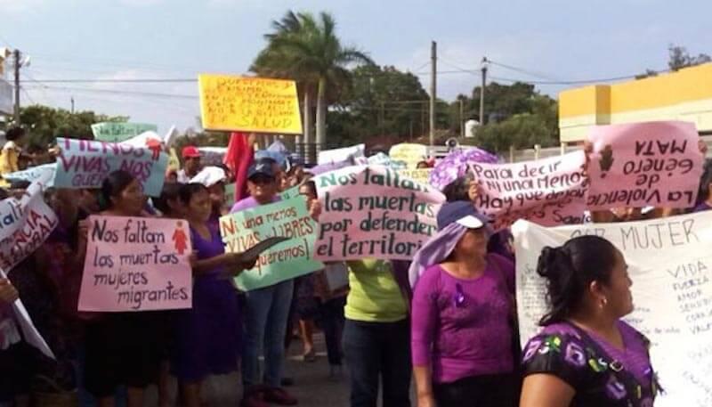 8m dans l 39 isthme de tehuantepec les femmes exigent l for Foyer international des etudiantes
