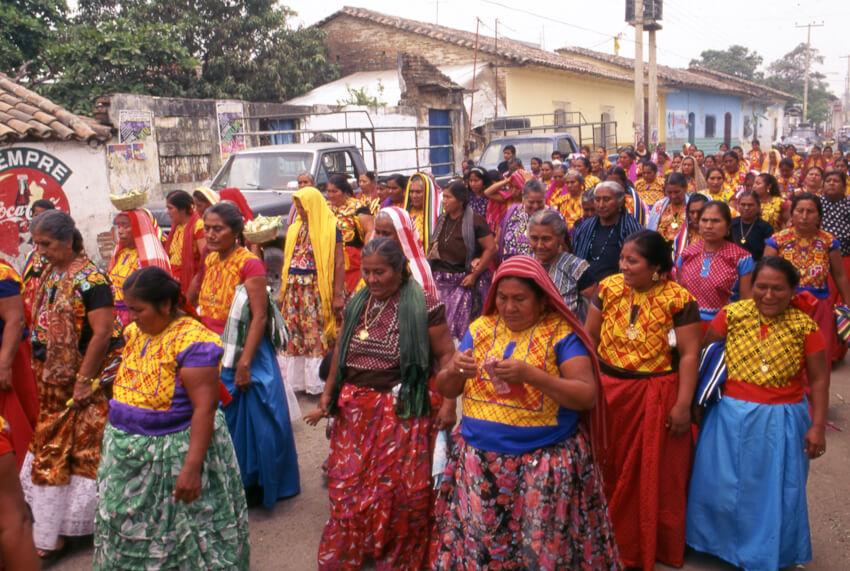 mujeres juchitecas