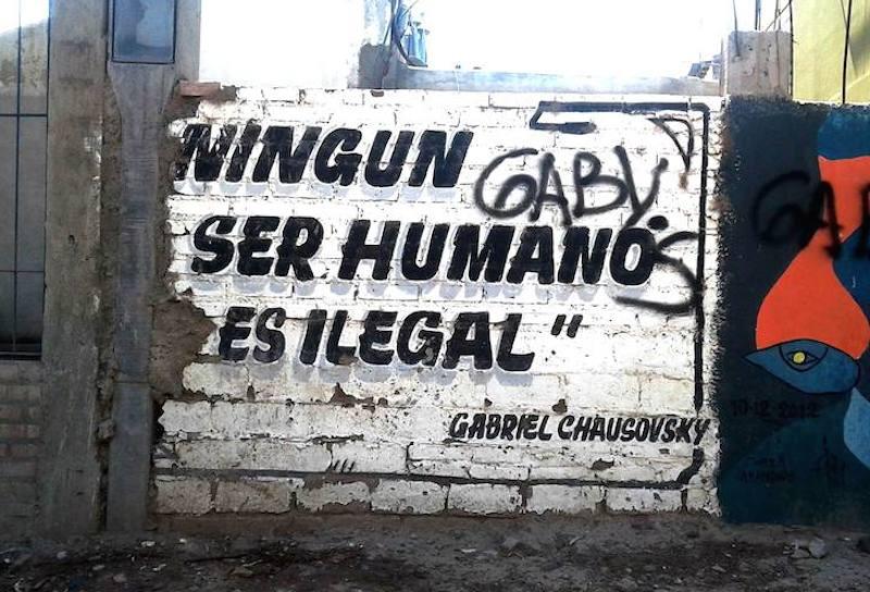 ningún ser humano es ilegal