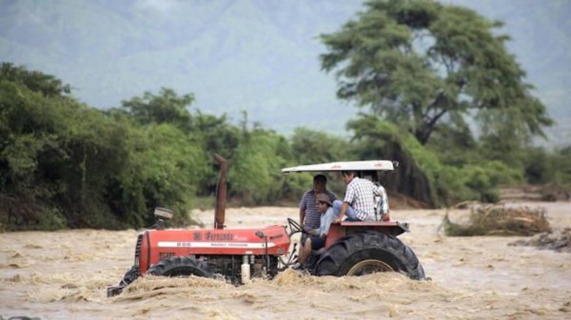 Perú inundaciones / foto AFP