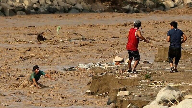 Perú inundaciones foto Reuters