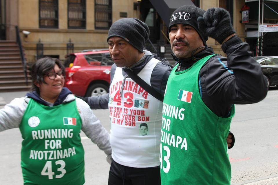foto: Running for Ayotzinapa