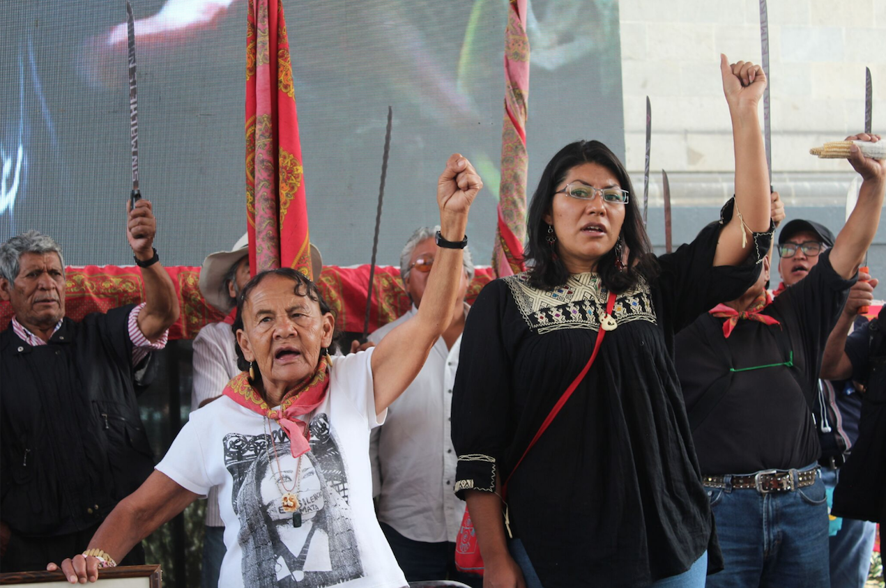 Campaña en Defensa de la Madre Tierra y el Territorio