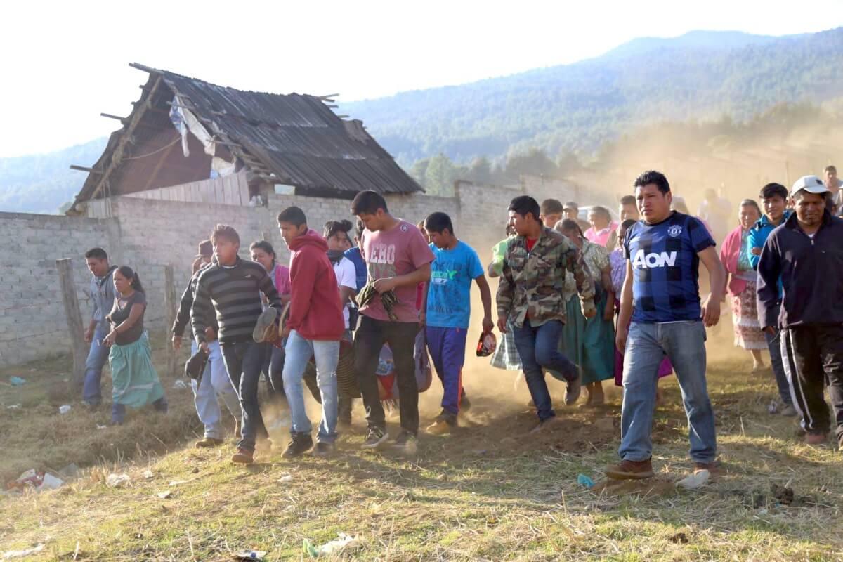 foto: Comunidad P'urhépecha Michoacán-México