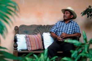 Entrevista con el ganador del premio Goldman 2017, es un premio que se concede anualmente como recompensa a defensores de la naturaleza y el medio ambiente, repartido en 6 categorías geográficamente, África, Asia, Europa, las naciones insulares, América del Norte, América Central y América del Sur.  foto por Carlos Hernández  18/04/2017