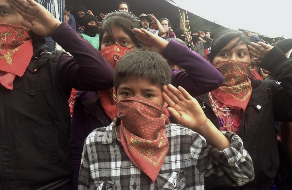 Resultado de imagen para Fotos de Marcos y el EZLN