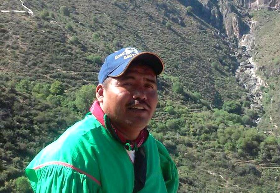 Miguel Vázquez Torres líder wixarika copia