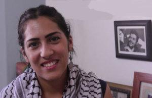 joven palestina entrevista aznarez