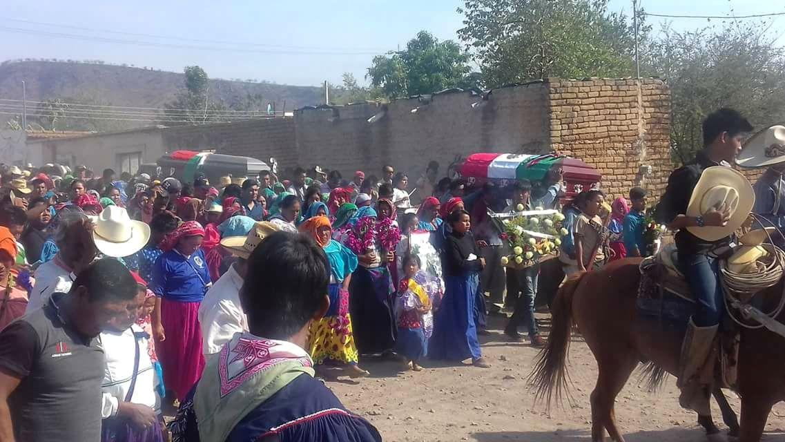 Pueblo wixárika exige castigo por asesinato de sus líderes y cancelación de concesiones mineras en su territorio