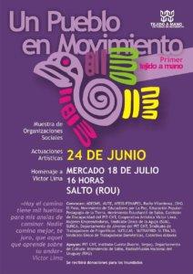 desagenda Uruguay pueblo en movimiento