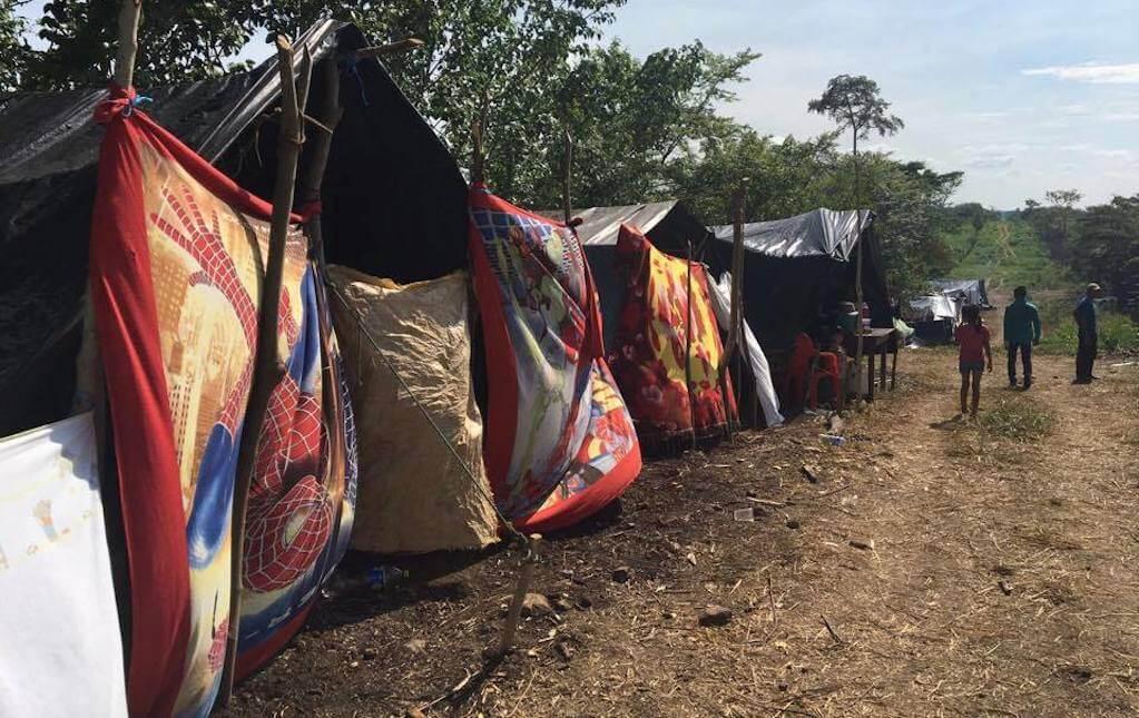 desplazados Guatemala campeche