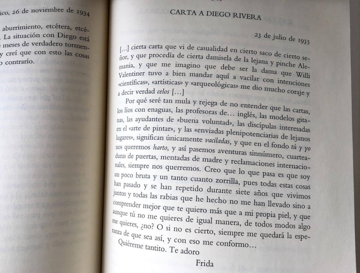 frida carta a diego 23 julio 1935