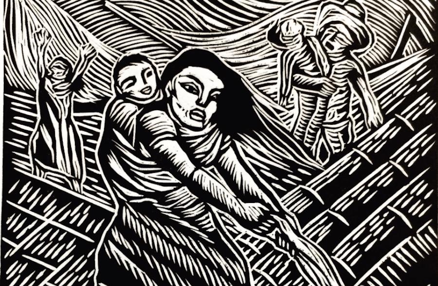 Enrique Díaz, ilustración sismos Chiapas copia