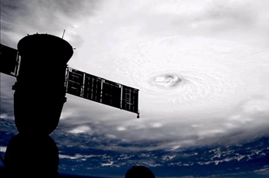 Huracán irma foto Nasa
