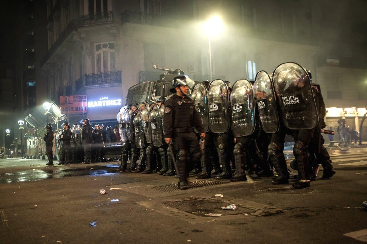 represión santiago 5