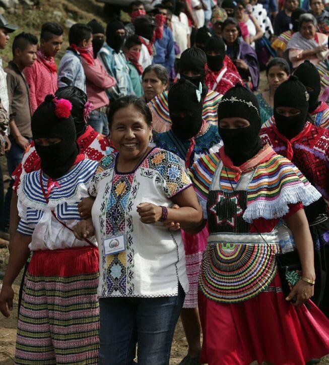 marichuy en guadalupe tepeyac