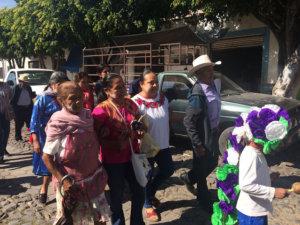 No se puede reconstruir una comunidad si no participan las mujeres- Marichuy en Mezcala