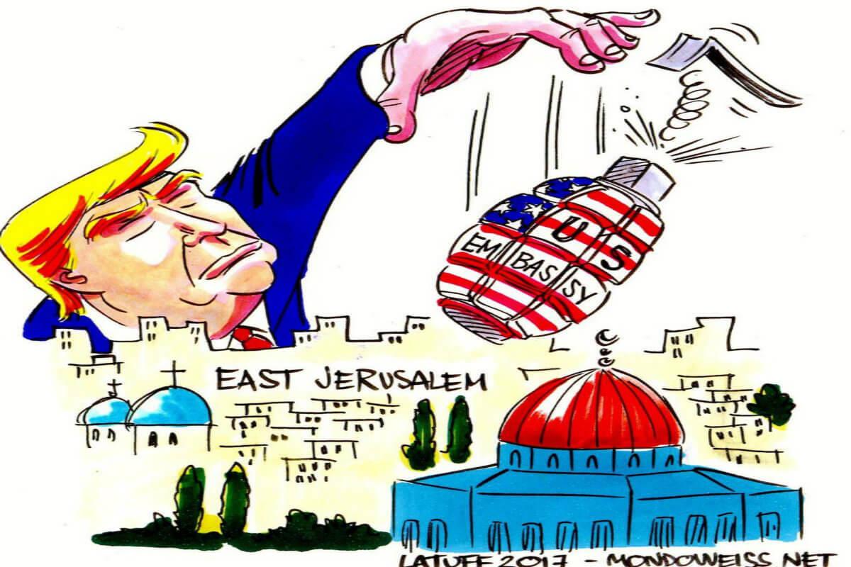 Jerusalén, ¿víctima de un demente o de un nuevo Hitler?