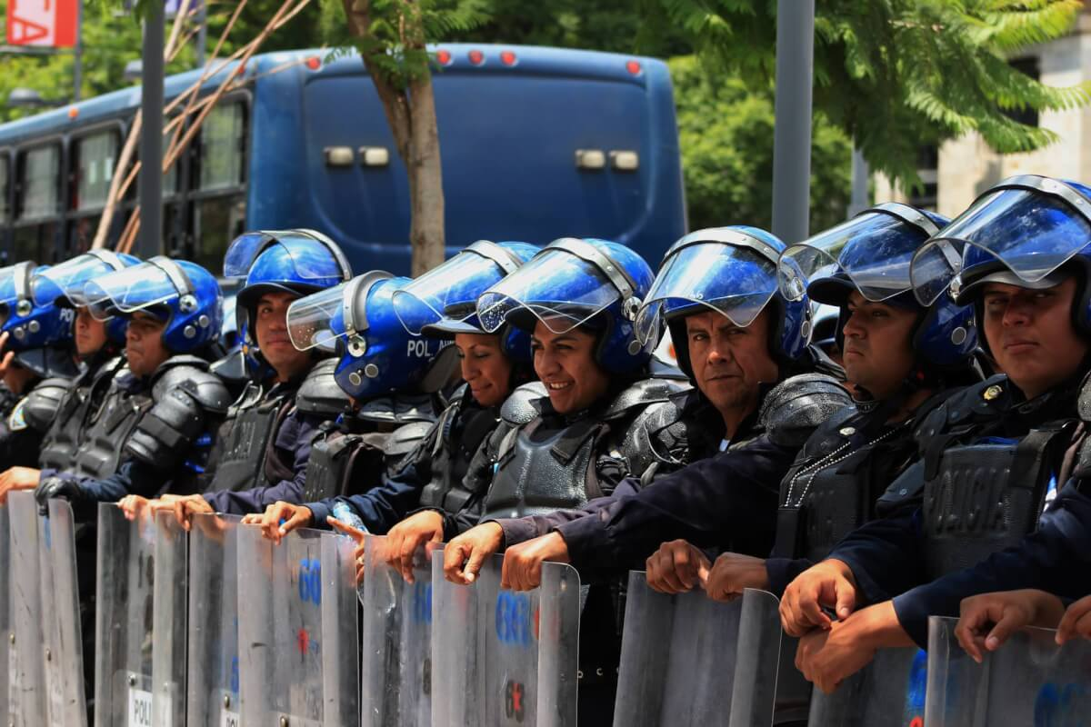 Policías SSP