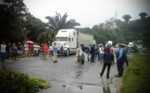 Un día más de protestas y represión en Honduras