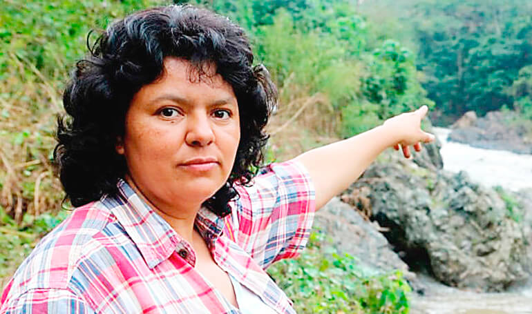 Autores intelectuales del asesinato de Berta Cáceres siguen en libertad: ONU - Desinformémonos
