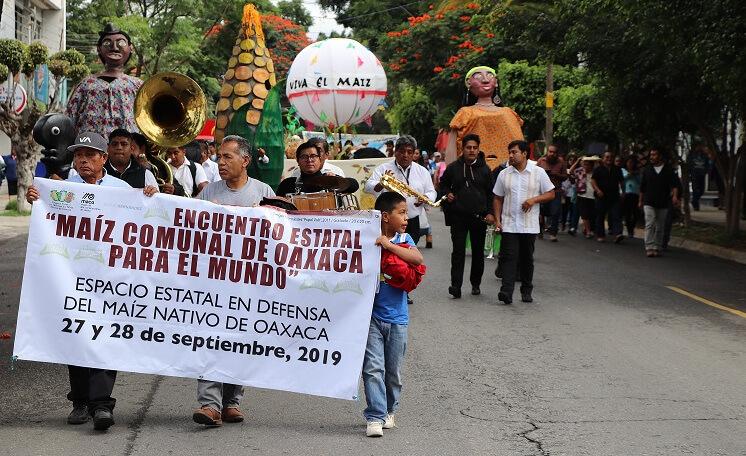 «La libre determinación de nuestros pueblos sólo será posible en la medida que hagamos posible la soberanía alimentaria»: Encuentro por el maíz comunal en Oaxaca