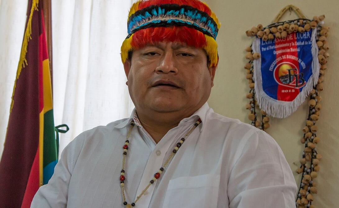 Líder indígena expresa respaldo absoluto al candidato izquierdista Arauz en Ecuador