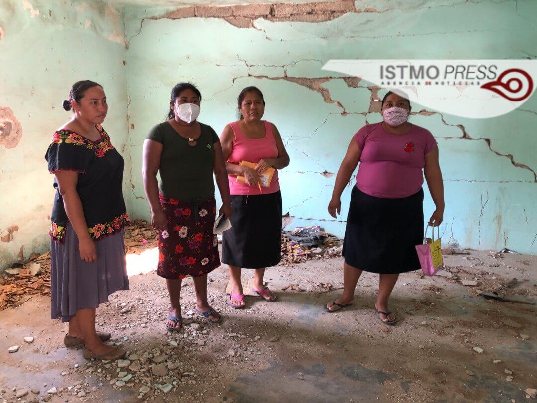 Aún sin casa, más de 200 damnificados por sismo de 2017 en Oaxaca -  Desinformémonos