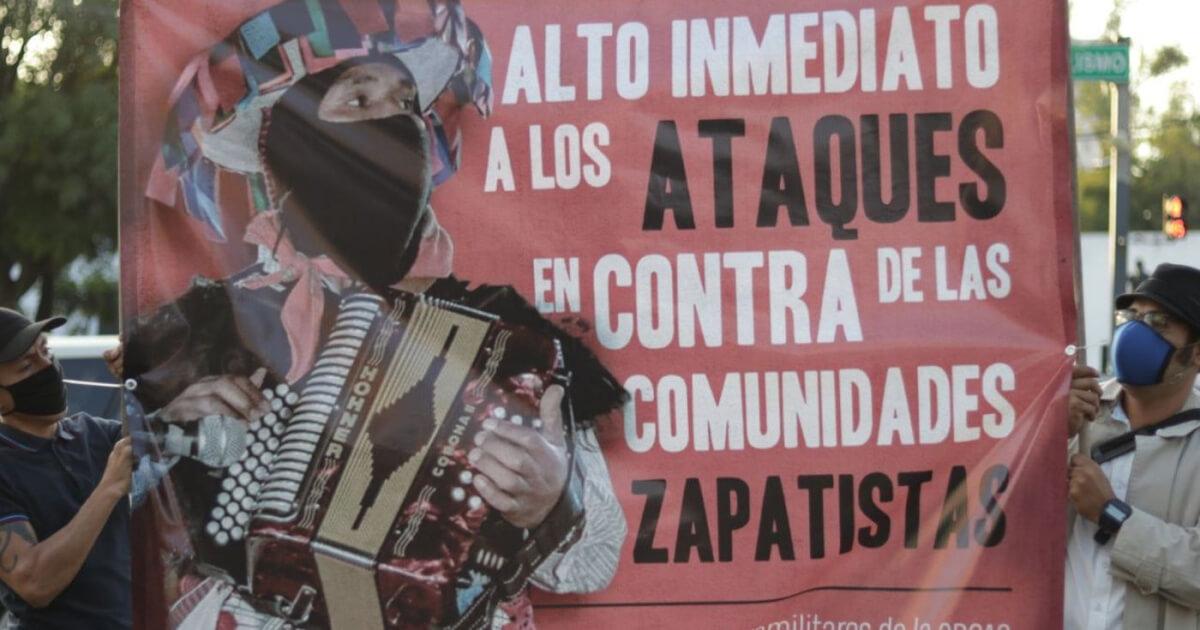 Comunidad autónoma en Chiapas denuncia ataque armado de la Orcao