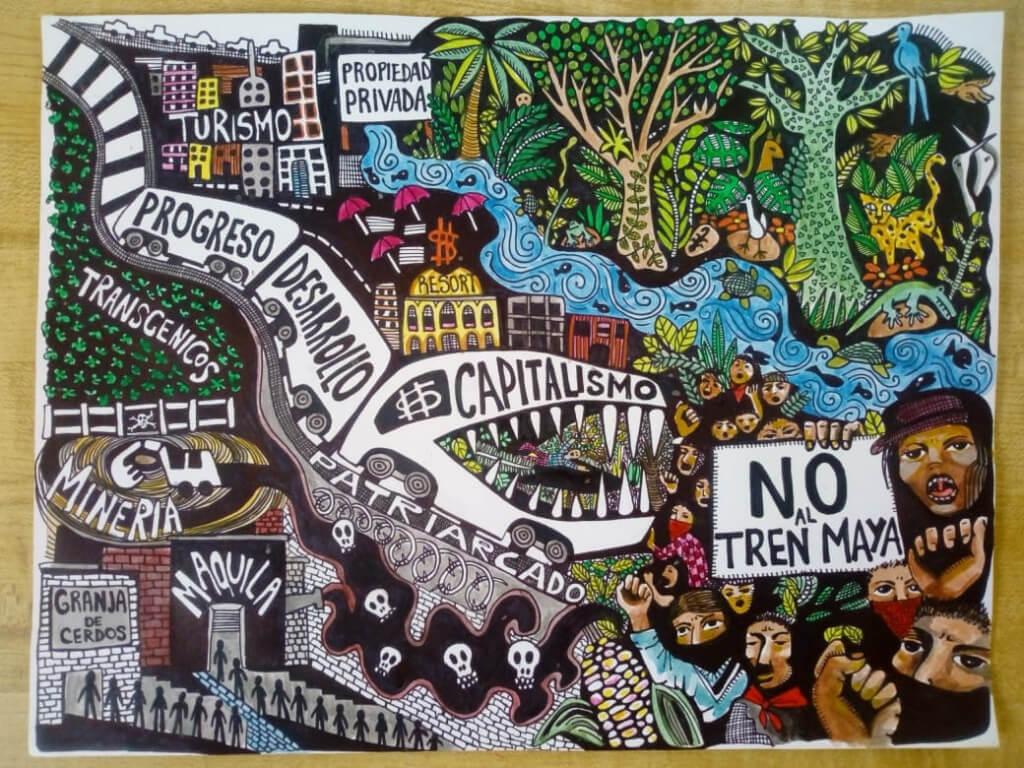 «No queremos que el presidente nos pida perdón, exigimos respeto a nuestra autonomía»: pueblos mayas